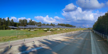 Blogg: Solpark, ett modernt inslag längs E18