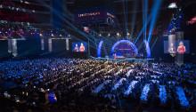 Bordsritning och bordsplacering Idrottsgalan 2020