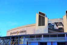 Två fläktväggar hjälper Bombardier Arena att både energioptimera och förbättra klimatet