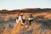 Gör det själv-gourmetrestaurang öppnar på sandstrand i Halland