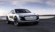 Premiär i Shanghai för eldrivna Audi e-tron Sportback concept