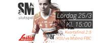 KVARTSFINAL 2:5 IKSU innebandy vs Malmö FBC