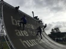 1.500 personer deltog i Tough Viking Malmö på Limhamn-stranden