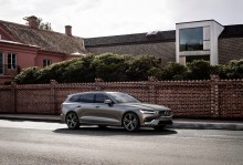 Volvo lanserar den nya mångsidiga familjebilen V60