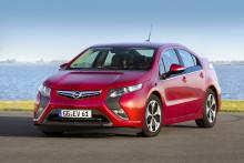 Opel Ampera är Europas mest sålda eldrivna personbil