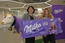 Česká zimní královna Ester Ledecká se spojuje se značkou Milka jako její nejnovější ambasadorka