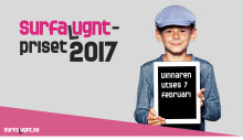 Surfa Lugnt-priset 2017 - tre kandidater tävlar i samband med Safer Internet Day