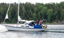 Kapten Väst stöttar projekt för ensamkommande flyktingungdomar i Nynäshamn