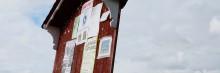 Utställning om anslagstavlor visas i Hällefors