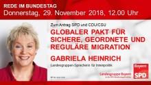 Gabriela Heinrich in der Bundestagsdebatte