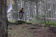 Sveum, Høines Larsen og Johannesen vant NC 5 Sykkelkross, Sandnes.
