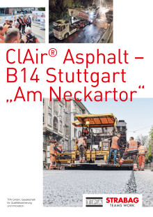 "ClAir® Asphalt – B 14 Stuttgart ""Am Neckartor"""
