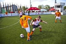 Hvem blir norgesmester i gatefotball?