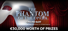Phantom of the Opera Slot Launches at Lucky Win Slots!
