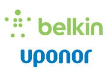 Uponor och Belkin bildar samriskföretag för att bana väg för intelligent sensorteknik för vatten