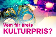 Vemfår årets Kulturpris?