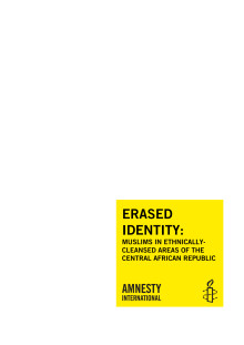 Erased Identity: Muslims in Ethnically Cleansed Areas of the Central African Republic
