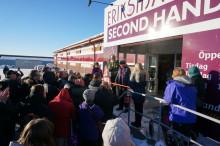 Erikshjälpen Second Hand öppnar butik i Östersund
