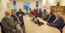 Delegationer fra Burkina Faso og Kenya har i foråret besøgt Dansk Retursystem for at hente inspiration til at genanvende affald.
