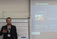 Fredrik Weibull presenterade forskning om träningspsykologi i Stirling