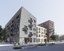 HSB brf Blanka i Lindholmshamnen säljstartar för allmänheten