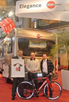 Bürstner – Dümo Cycling auf der CMT in Stuttgart