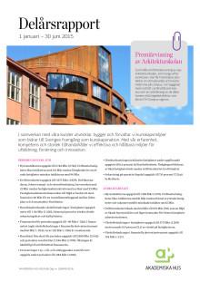 Delårsrapport 1 januari - 30 juni 2015