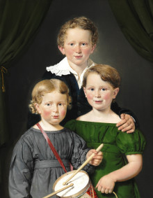 Children of the Danish Golden Age and French Gilt Bronzes