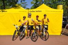 Mit Gelbe Seiten beim 24 Stunden-Rennen von Duisburg