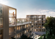 Titania vinner markanvisningstävling för 88 lägenheter i Sollentuna kommun