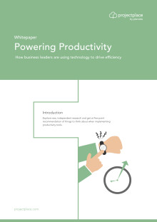 The Powering Productivity report