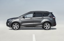 Trendfarbe Grau ist zurzeit beliebteste Außenfarbe bei europäischen Ford-Kunden