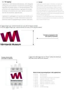 Regler för användning av Värmlands Museums logotyp