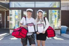 Två Ume-elever prisades
