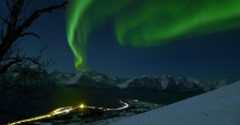 Northern lights packages around Lyngenfjord