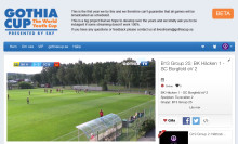Se Gothia Cup live och var med i världsrekordförsöket
