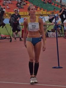 Sofie Skoog nia på Universiaden i Kazan i en högklassig tävling