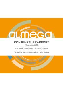 Almegas Konjunkturrapport november 2016
