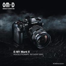 Under utveckling: OM-D E-M1 MARK II sätter ny standard i snabbhet och mobilitet