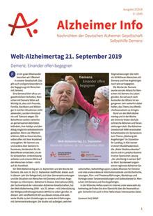Alzheimer Info 3/2019: Welt-Alzheimertag 2019 und Unterstützung für pflegende Angehörige