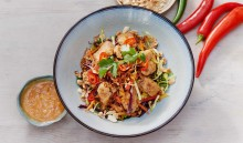 New Thai salad dish with Oumph! now at Busaba