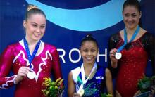 Dubbelt silver för Emma Larsson i World Challenge Cup