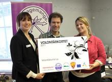 Volontärkortet lanseras i Uppsala - 10 000 ska tackas för sitt engagemang!