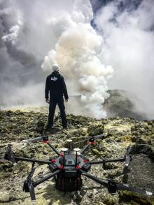DJI Drones Make Breakthrough in Volcano Research