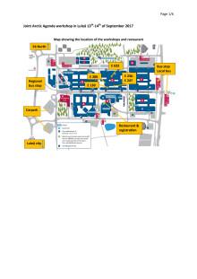 Karta för besökare/media