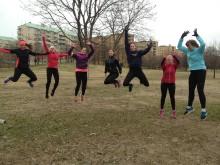 Träningsnätverket B.A.B.Y. erbjuder gratis gruppträning för tjejer inför Vår Ruset 2013