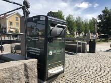 Smarta soptunnor ska spara på miljön