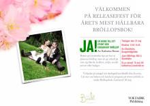 Pressinbjudan 18 maj : Ny bok om ekologiska bröllop