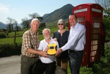 UK's 3,000th adopted red phone box given a new life-saving future