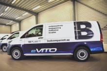 Copiax väljer Budcompaniett för miljövänligare leveranser med el-bilar